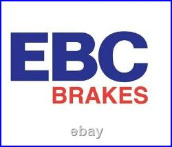 NEW EBC 258mm FRONT TURBO GROOVE GD DISCS AND YELLOWSTUFF PADS KIT PD13KF294
