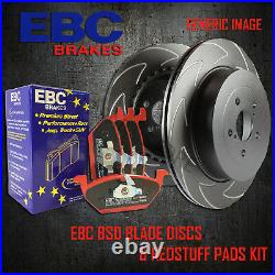 NEW EBC 312mm FRONT BSD PERFORMANCE DISCS AND REDSTUFF PADS KIT PD17KF010