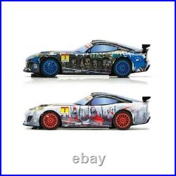NEW Scalextric Urban Outrun GT Zombie vs GT Spartan 1/32 Slot Car Track Set