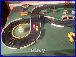 NMINT AURORA MoDEL MoToRING 4 Lane T Jet Slot Car Set Race Set Track