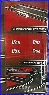 Ninco N21051 4 Lane Pro Track Set! 1/32 Scale Slot Car Track Rare Never Used