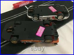 Ninco Slot Car Set Supra vs Mosler Master Track Professional includes cars