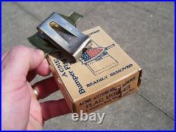 Original 1920 s- 1930s Vintage nos auto Bumper flag bracket Ford gm chevy olds