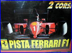 Polistil Vtg Limited Huge Pista Ferrari F1 Electric 1/32 Slot Cars Racing Tracks