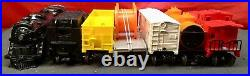 Postwar Lionel Set #11500 #2029 Steam Loco with Freight Cars Track Boxed