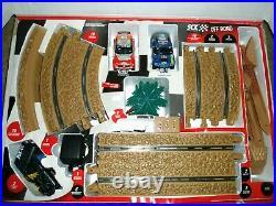 Rare-SCX Off Road Race Track Set 1/32 Scale Track-2 Cars Mitsubishi/Volkswagen