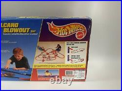 Rare Vintage Hot Wheels 1997 Volcano Blowout Car Track Set Brand New and Sealed