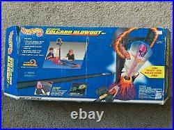 Rare Vintage Hot Wheels 1997 Volcano Blowout Car Track Set New Open Box