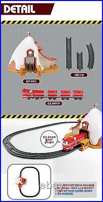 Robot Trains House Rail Set ALF Robot Train Track Playset Toy Korean Animation