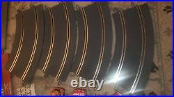 SCX Nascar Bass Pro Shops 1/32 Slot Car Track COMPLETE SET