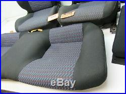 SEAT FRONT REAR BACK CAR BUCKET HEAD REST LEFT RIGHT SET fits CELICA 94-99 ST GT
