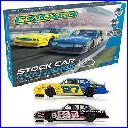 Scalextric C1383T Stock Car Challenge 132 Slot Car / Track Set