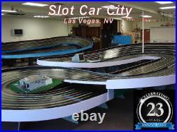 Scalextric Lamborghini Rampage C1386T 1/32 Slot Car Set-15.8' Track! -4 Layouts