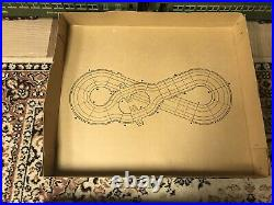 SpeedTrax 4-LANE RACEWAY TRACK Set New In Box, Includes 4 Cars, Controller Extra