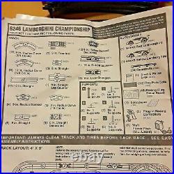 TYCO LAMBORGHINI CHAMPIONSHIP HO Slot Car Track No Cars Magnum 440-X2 6246