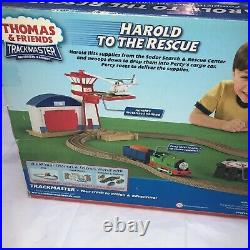 Thomas & Friends Trackmaster Harold To The Rescue Complete Track Set