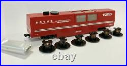 Tomix 6433 Multi-Rail Track Cleaning Car (Red) 2 Cars Set N