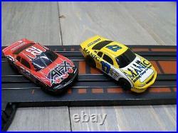 Tomy Afx Big Block Battlers Ho Slot Car Set 40 Feet Of Track Mega G Cars Used