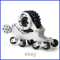Tracks Wheel Snow Tire Sandmobile Conversion for 110 TRAXXAS TRX-4 Car 4PC/Set