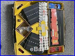 Triang Scalextric Set Cm3 Vintage With Cars Track