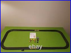 Tyco HO Days of Thunder Slot Car Race Track Set 3 in 1 Big Banked Oval with2 #46's