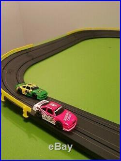 Tyco HO NASCAR Days of Thunder 440X2 Big Oval Slot Car Race Track Set/Lot 3'x7