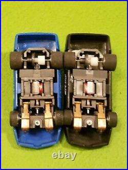 Tyco HO Scale Slot Car 6 in 1 Race Track Set Complete/Lot With 2 Corvette Cars
