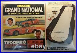 Tyco Holy Grail Slot car &Train Track sets Mask & The Grand National unopened