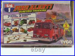 Tyco US 1 Fire Alert Electric Trucking Set Slot Car Track set NEW IN BOX