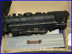 Very Nice Vintage Marx Train Set with Metal 666 Engine, cars track in box