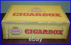 Vintage Aurora Cigarbox City U. S. A. Track Set With Track, Stands, & 1 Car