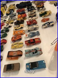 Vintage Aurora Faller Tyco AFX T-Jet Slot Car Set Track Controller Kit Parts Lot