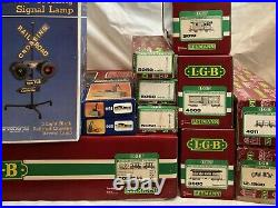 Vintage Lehman The Big Train 20301 Set With Extra Cars Track Over 30 Pieces