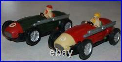 Vintage Maserati Scalextric Minimodels Tinplate Slot Car Set Track Drivers Box
