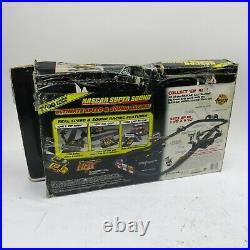 Vintage Tyco NASCAR Super Sound Slot Car Race Set Track, Controller, Starter